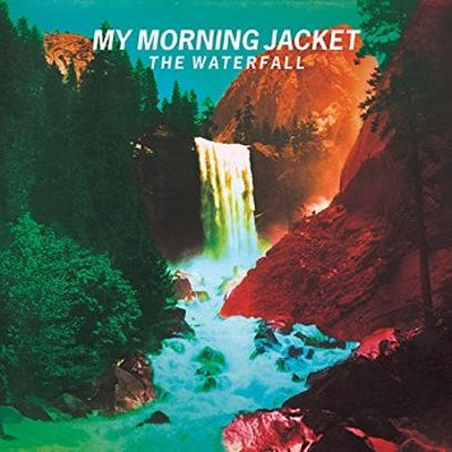 """Cover art for My Morning Jacket's album """"The Waterfall."""""""