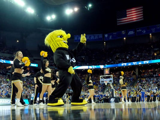 NCAA Basketball: NCAA Tournament-3rd Round-Wichita State vs Kansas