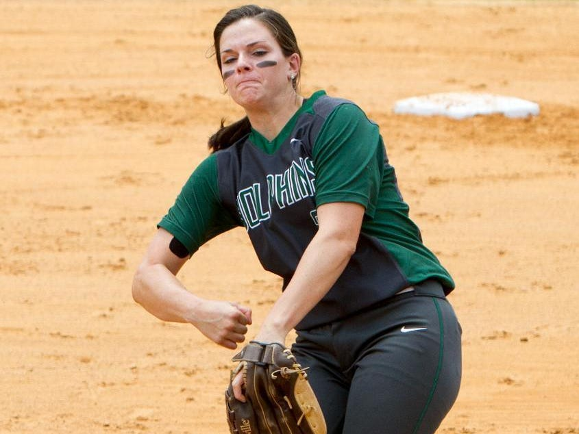 Jacksonville Dolphins senior Taylor Rossman was a standout pitcher at Florida High over a career that spanned seven years.