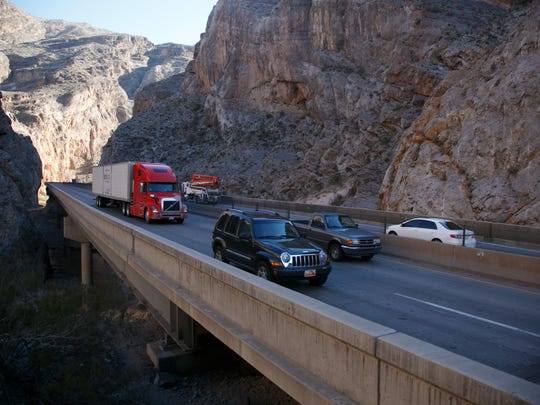 Virgin River Gorge improvements to bring road closures