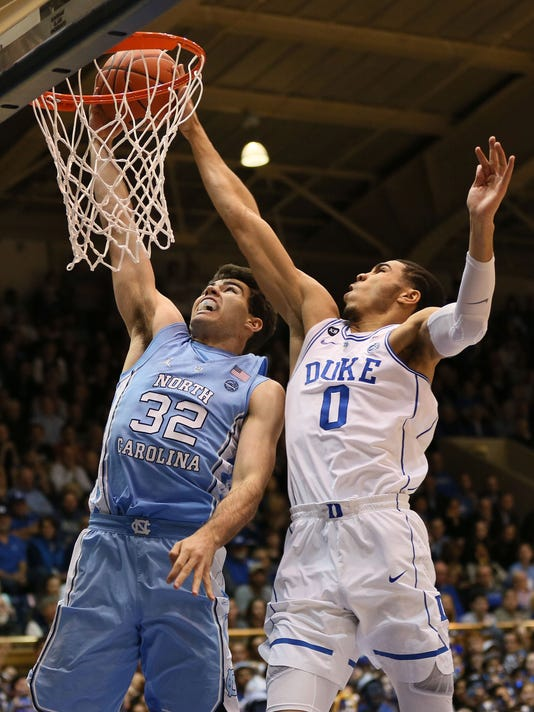 USP NCAA BASKETBALL: NORTH CAROLINA AT DUKE S BKC USA NC