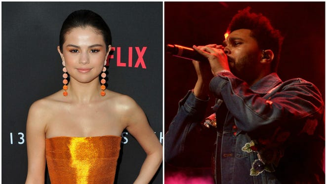 Selena Gomez and The Weeknd were Coachella canoodlers on Saturday.
