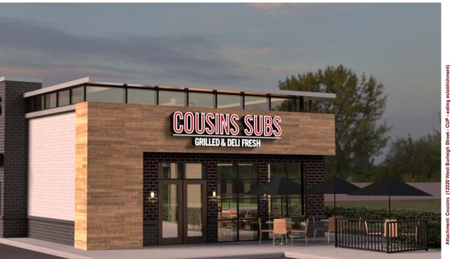 Cousins Subs is looking to open a restaurant at 12320 W. Burleigh St. in Wauwatosa. This restaurant would replace the existing Cousins Subs at the southeast corner of 124th & Burleigh streets, which has been in operation since January 1982.