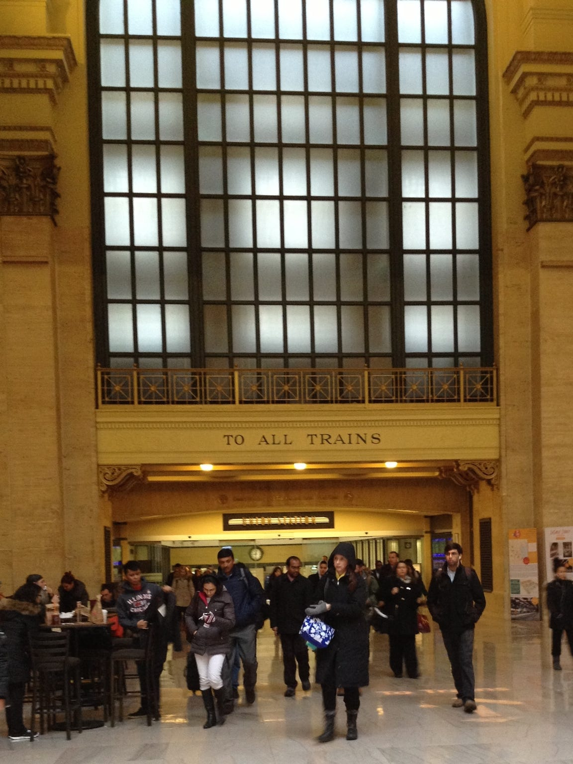 Chicago's Union Station.