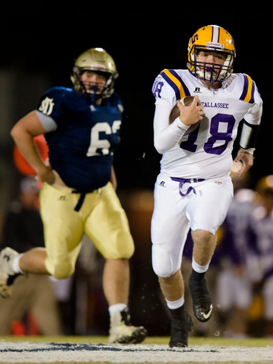 HS Football: St. James vs. Tallassee