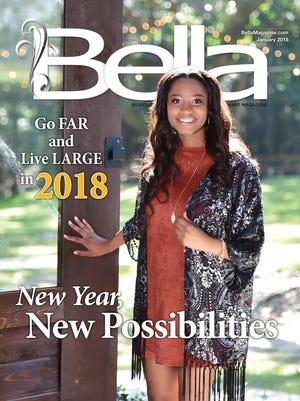 Bella Magazine front cover, Kristen Mitchell.