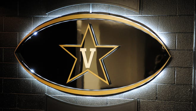 A fixture in Vanderbilt's football locker rooms in the McGugin Center on the Vanderbilt University campus.