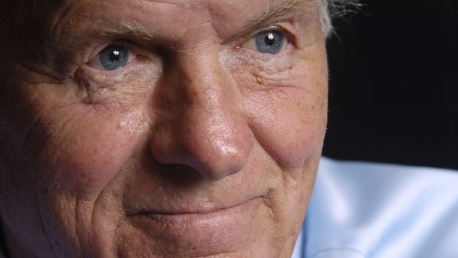 Philanthropist T. Denny Sanford is donating $100 million for stem cell research to the University of California at San Diego.