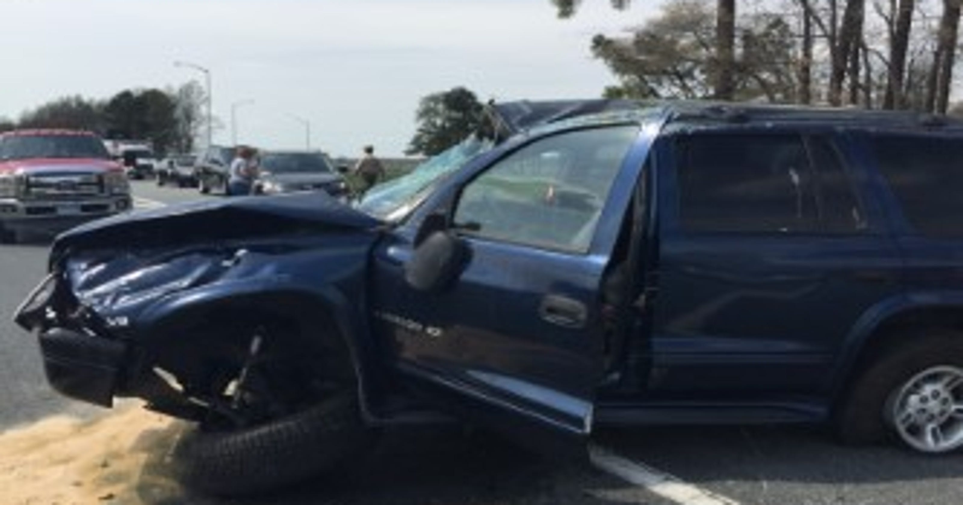 One injured in Route 50 crash