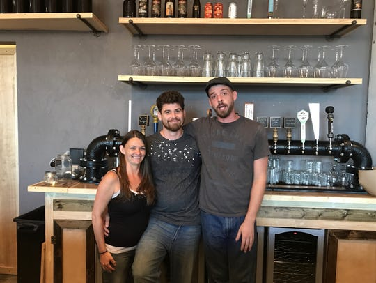 The team behind the creative dishes at Rogue River