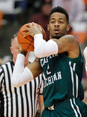 James Thompson IV finished with 14 points and 14 rebounds in Eastern Michigan's 93-67 win over in-state rival Western Michigan Saturday.