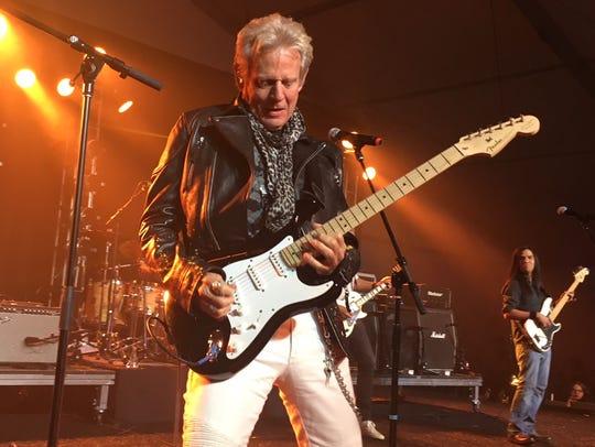 Don Felder performing at Alice Cooper's Birthday Par-Tee