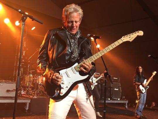 Don Felder performing at Alice Cooper's Birthday Par-Tee at Las Sendas Golf Club in Mesa on Saturday, April 28.
