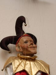 This marionette sits in the doll room of the Deming-Luna-Mimbres