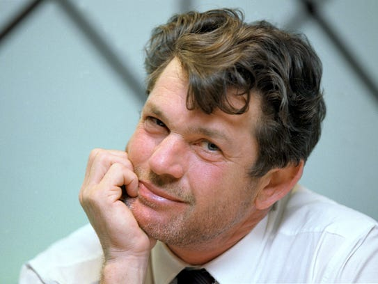 Jann Wenner in 2000. He is the subject of a new biography.