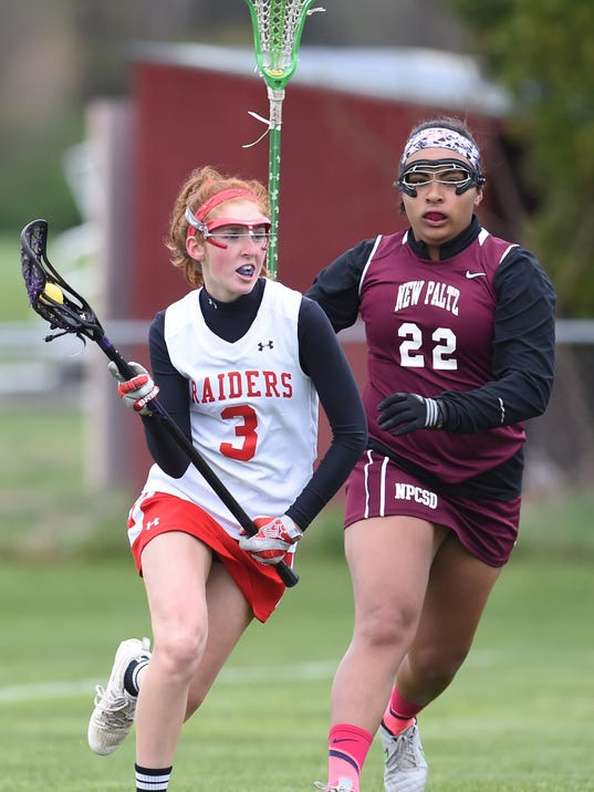 Red Hook girls lacrosse vs New Paltz