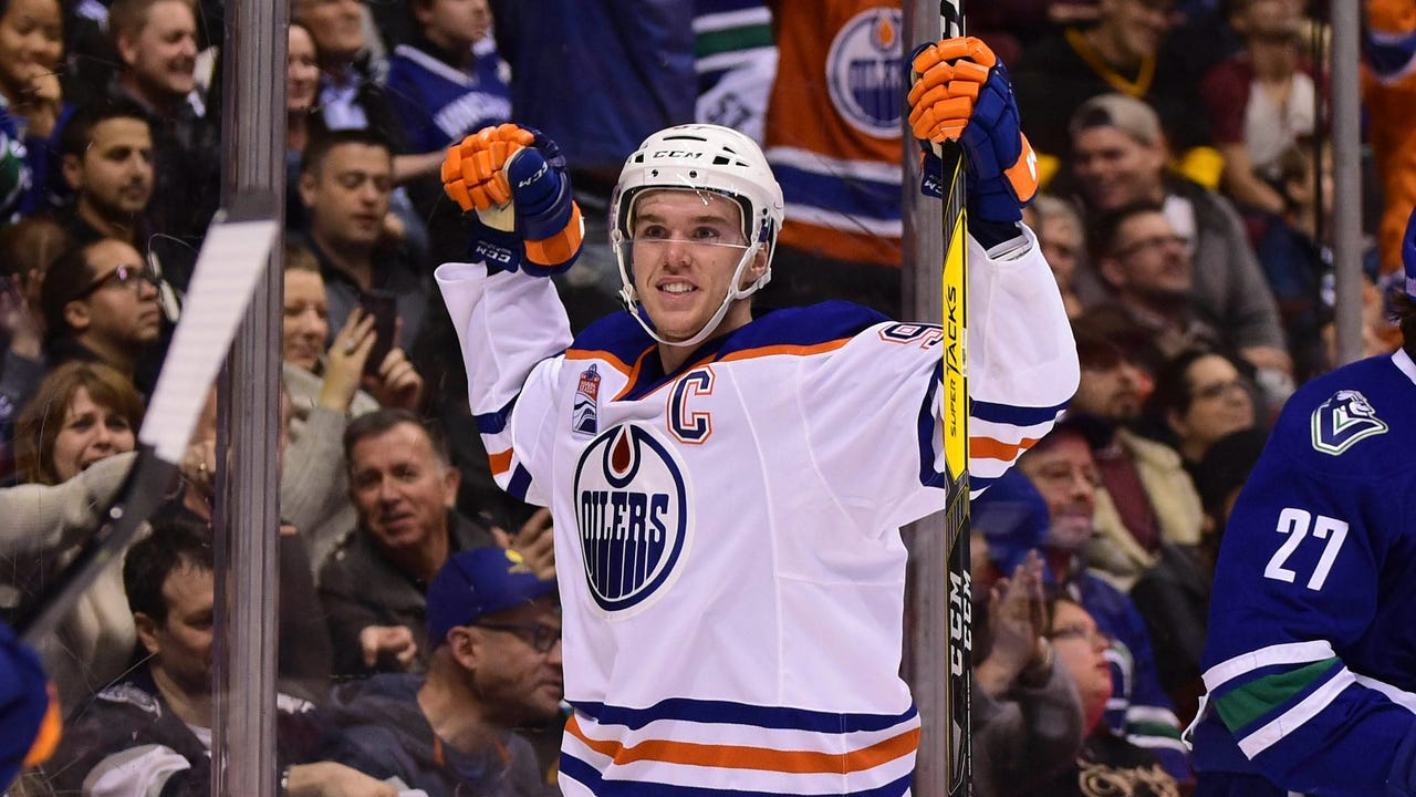 USA TODAY Sports sat down with rising NHL star Connor McDavid to talk about his role in growing the sport of hockey.