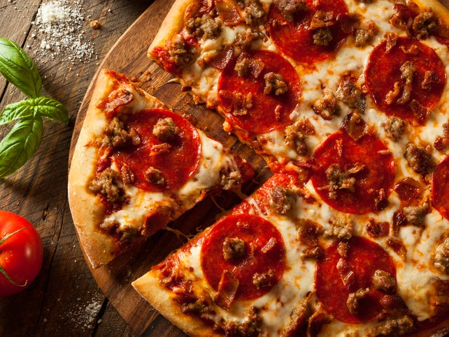 Feed the family with a free pizza from Sam & Louie's.