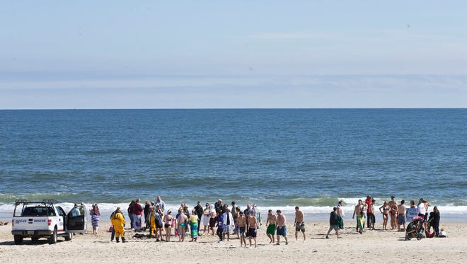 AJ's New Jersey Polar Dip to raise money for Camp Sunshine, a vacation retreat for families with children who suffer from cancer, takes place on the beach in Long Branch.