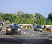 More than three miles of the freeway will be trans...