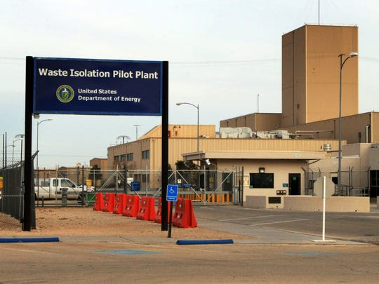 This March 6, 2014 file photo shows the idled Waste Isolation Pilot Plant, the nation's only underground nuclear waste repository, near Carlsbad, N.M. Shipments of waste to the repository resumed in April 2017 for the first time since a 2014 radiation release contaminated part of the facility.