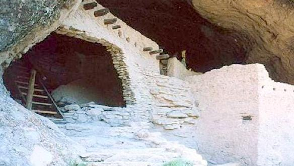 The Cliff Dwellings National Monument is offering free passes through Sunday.