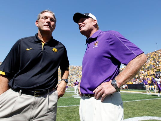 NCAA Football: Northern Iowa at Iowa