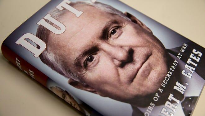 """Duty: Memoirs of a Secretary of War,"" by former Defense secretary Robert Gates, went on sale this week."