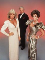 Linda Evans, John Forsythe and Joan Collins starred