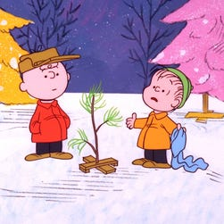 """67505_001 - The ABC Television Network will commemorate the fortieth anniversary of the beloved Emmy Award-winning PEANUTS special, """"A Charlie Brown Christmas,"""" created by late cartoonist Charles M. Schulz in 1965, airing on TUESDAY, DECEMBER 6 and FRIDAY, DECEMBER 16 (8:00-9:00 p.m., ET/PT). The hour will also include a series of Christmas-themed animated stories entitled """"Charlie Brown Christmas Tales,"""" based on Schulz's work, in which each of the beloved PEANUTS characters - Charlie Brown, Snoopy, Linus, Lucy and Sally - star in his or her own charming animated vignette. """"A Charlie Brown Christmas"""" will air with Spanish audio via Secondary Audio Programming (SAP). (© 1965 United Feature Syndicate Inc.)"""