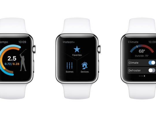 watchOS2 software on Apple Watch