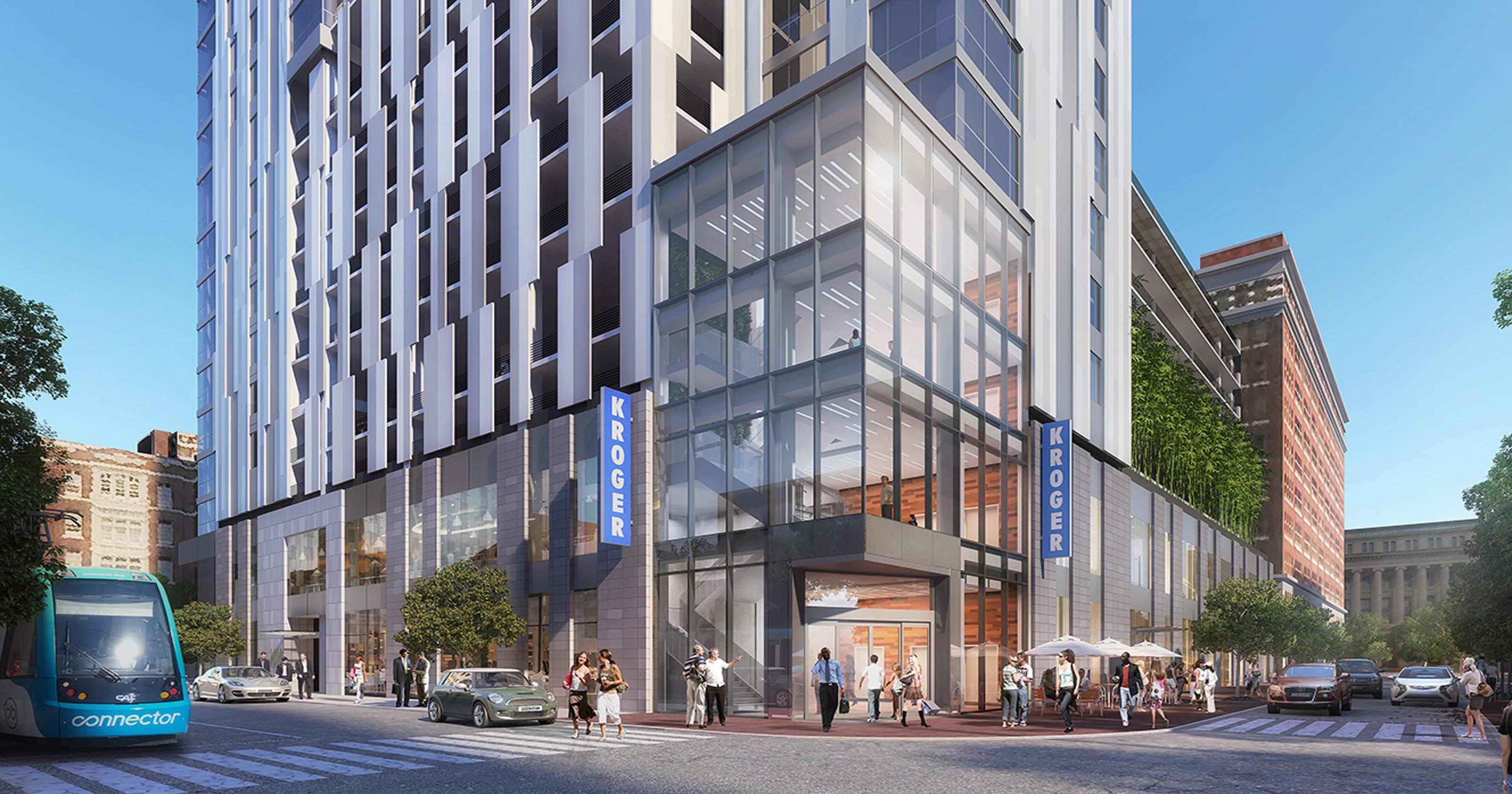 Kroger to build its first Downtown Cincinnati supermarket