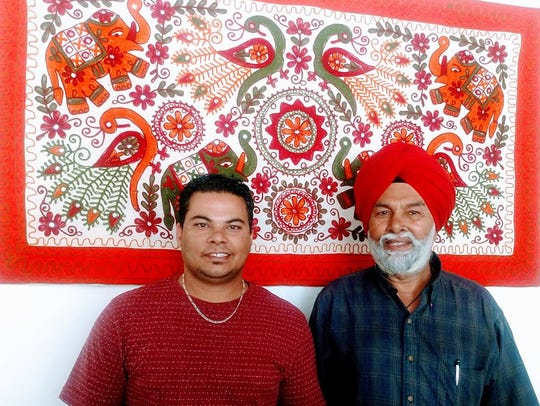 Raj and Chur Singh are the co-owners of Shahi Pakwan.