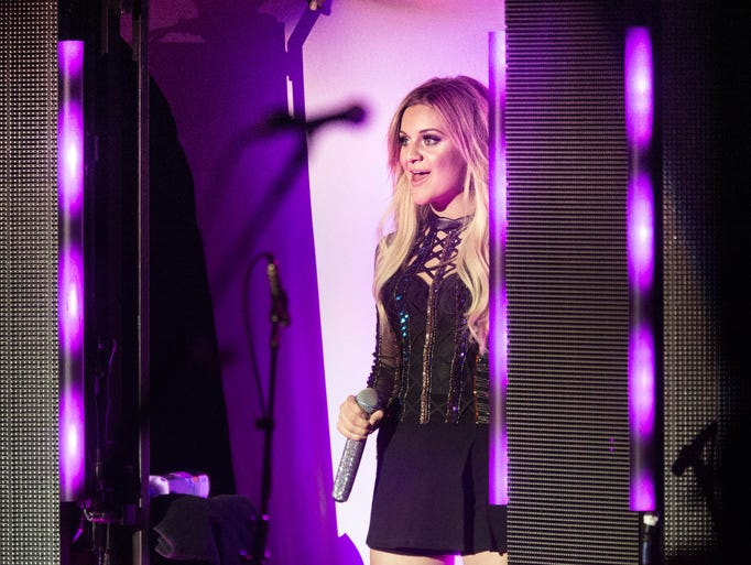 Kelsea Ballerini appears on stage at the Tennessee