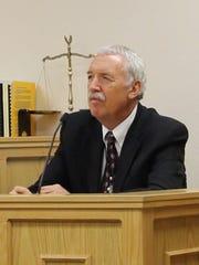 Don Reid, Director of DSU Campus Police, testifies