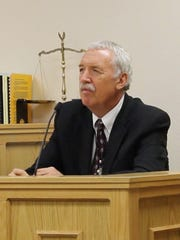 Don Reid, Director of DSU Campus Police, testifies during the Varlo Davenport trial Thursday, July 14, 2016.