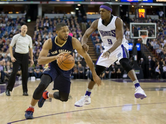 Oft-injured Eric Gordon is a free agent this summer.