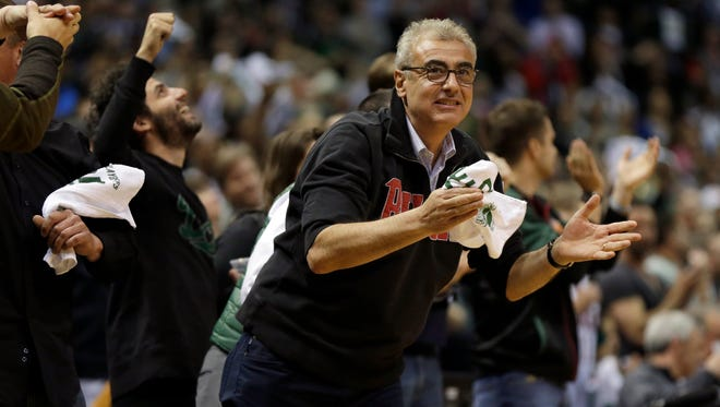 Milwaukee Bucks owner Marc Lasry is a longtime supporter of Bill and Hillary Clinton.