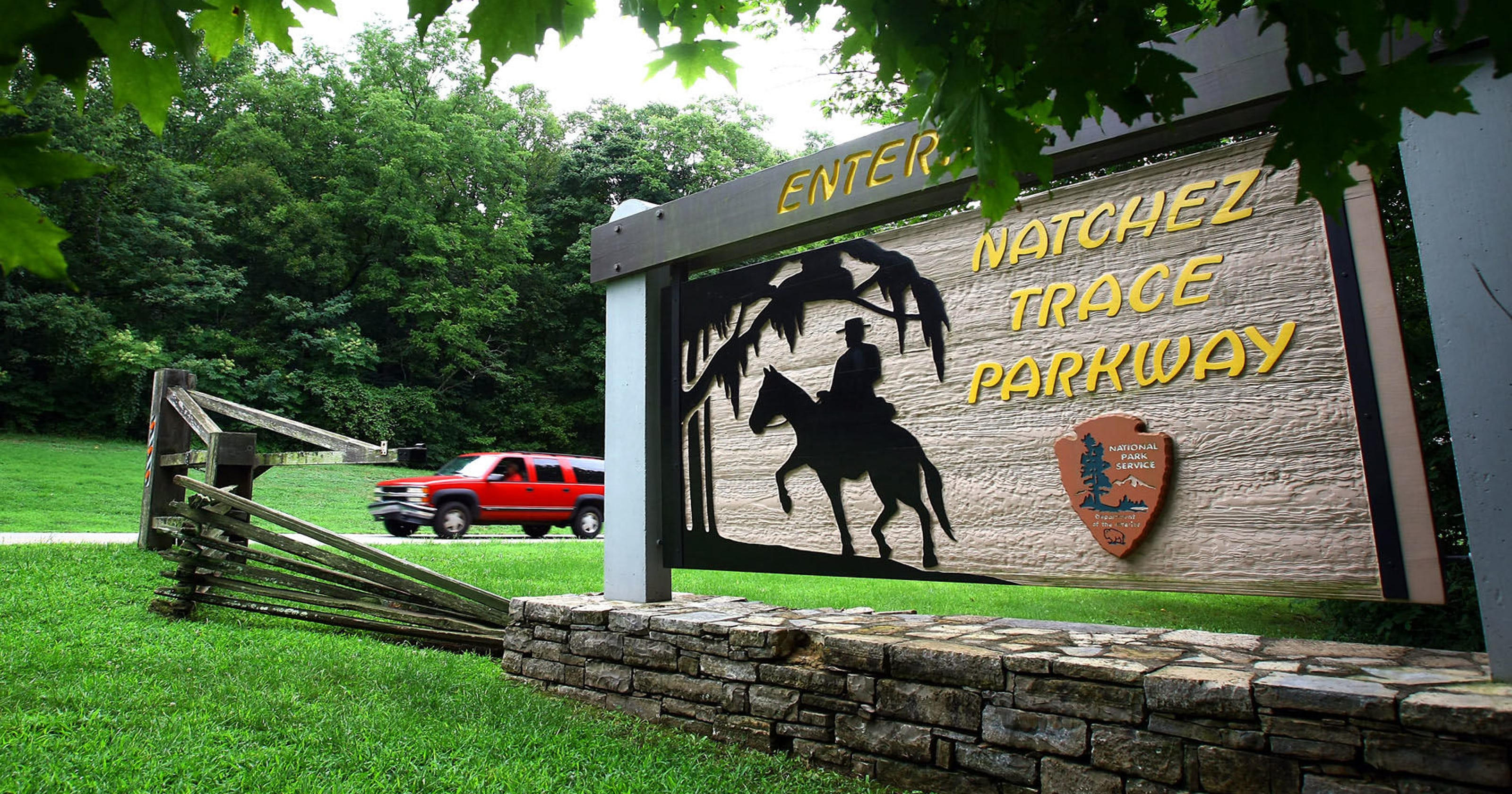 Natchez Trace land illegally excavated, Native American artifacts