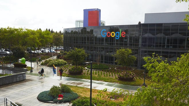Exterior of Google's Googleplex headquarters