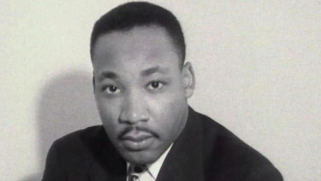 "The Rev. Martin Luther King Jr. from Sam Pollard's documentary ""MLK/FBI."""
