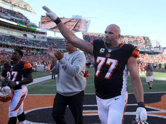 Bengals tackle Andrew Whitworth