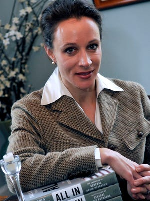 Paula Broadwell, David Petraeus' biographer and former mistress.