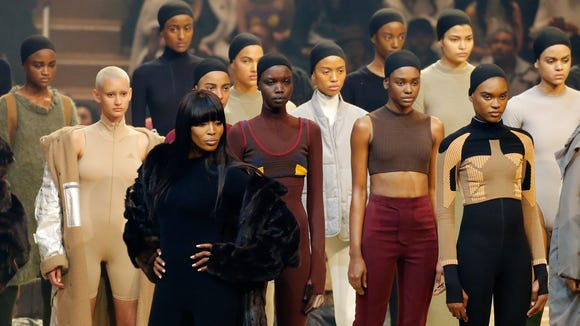 The diverse faces of Kanye West's Yeezy Season 3 fashion