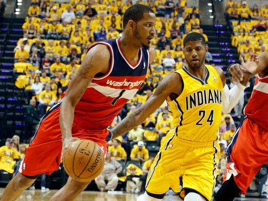 Washington Wizards win road Game 1 vs. Indiana Pacers 3c4d56131