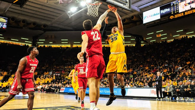 The Badgers allowed 44 points in the paint against Iowa.