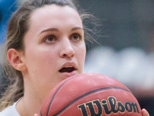 Bella Taylor set the Sewanee single game scoring record