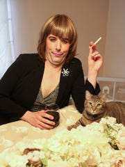 Troy Hendrickson as his alter-ego Aunt Mary Pat DiSabatino, inspired by his mother.