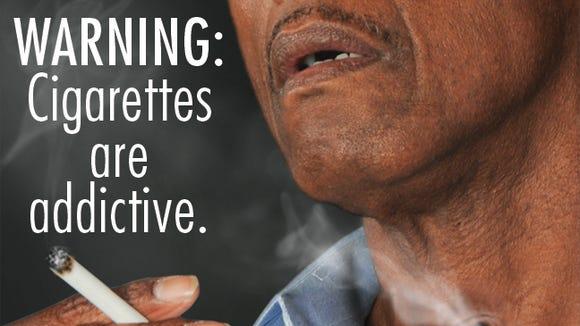 Cigarette warning.