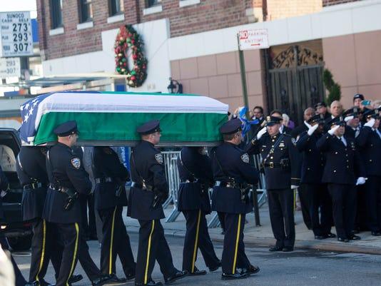 New  York City slain cop